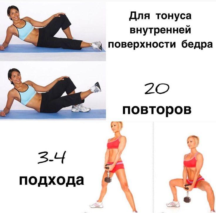 Упражнения для внутренней части бедра (плюс видео)