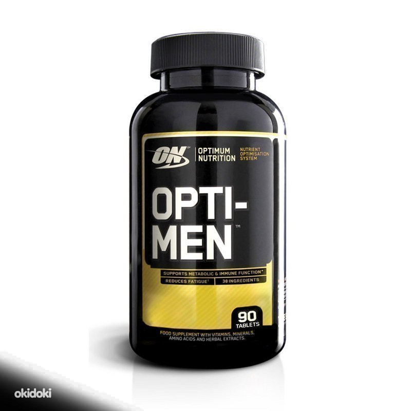 Топ спортивных витаминов для мужчин