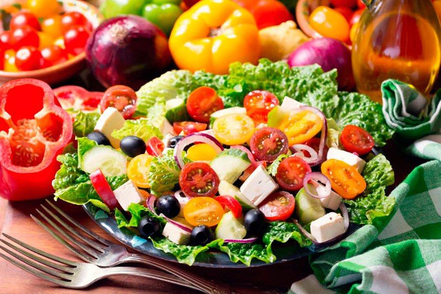 Средиземноморская диета: меню на неделю, список продуктов в таблице с калориями, рецепты