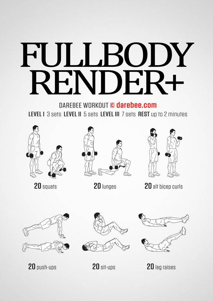 Программа тренировок фулбоди | фулбади | full body