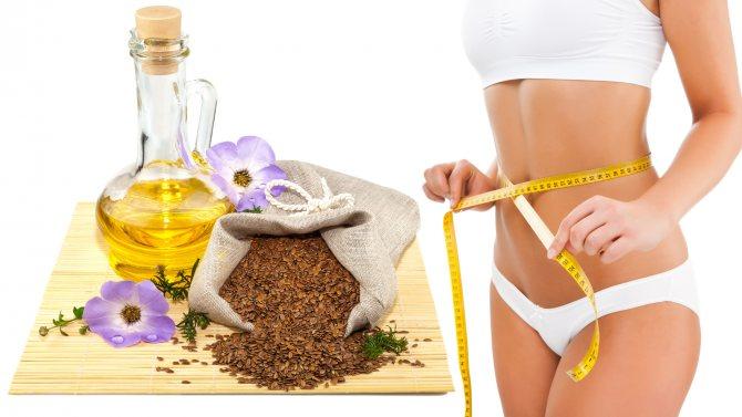Льняное масло для похудения: как принимать жидкое и в капсулах + отзывы