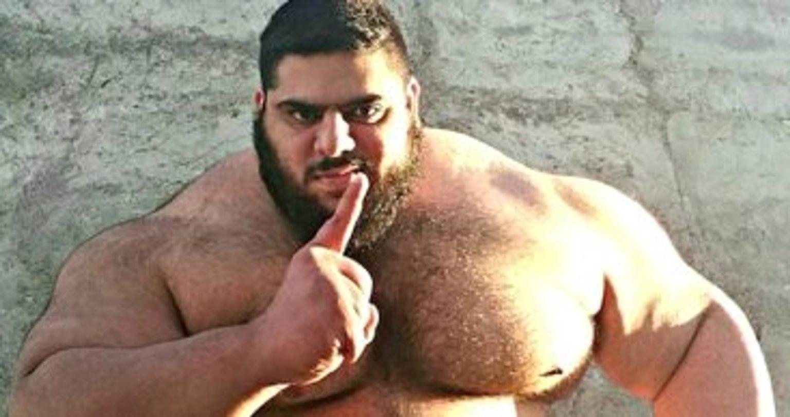 Иранский халк: саджад гариби рассказал, как набрать массу