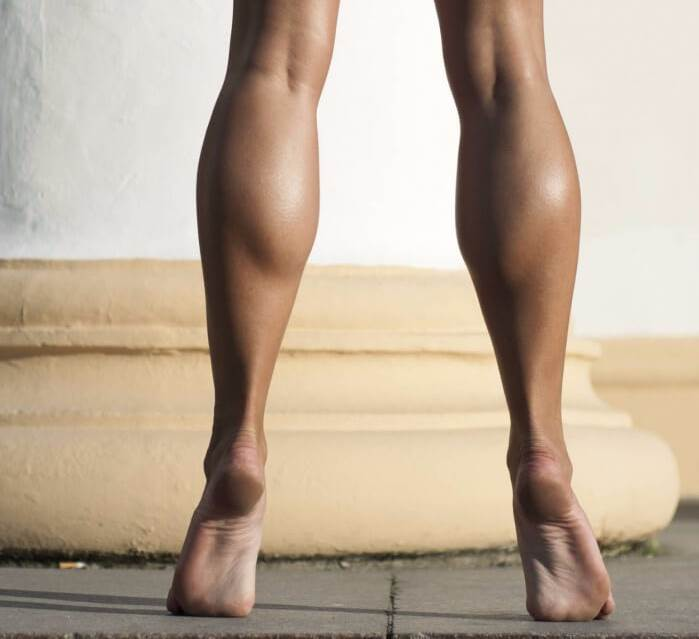 Комплекс упражнений для икроножных мышц