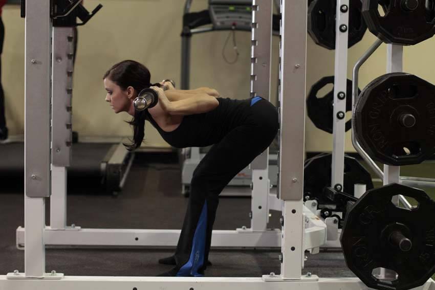 Упражнение «доброе утро»: техника выполнения наклонов со штангой