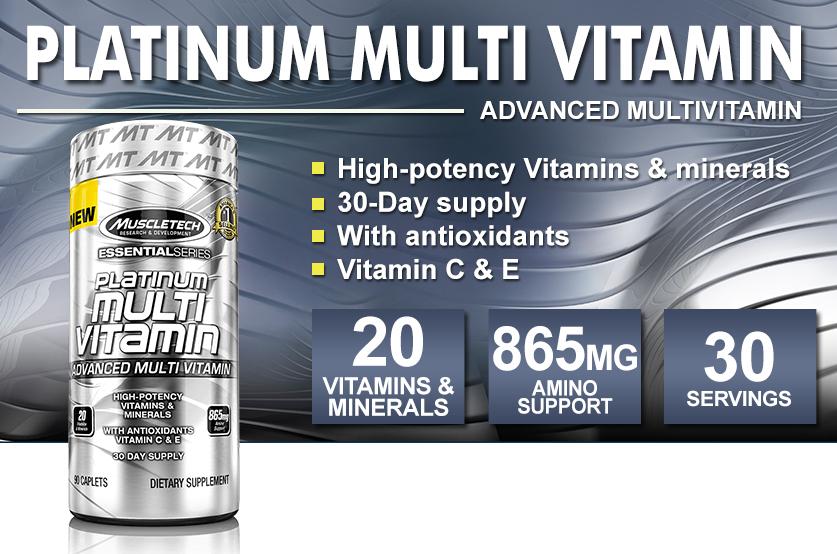 Platinum multi vitamin 90 таб. muscletech (1548613) купить от 594 руб в самаре, отзывы, видео обзоры и характеристики