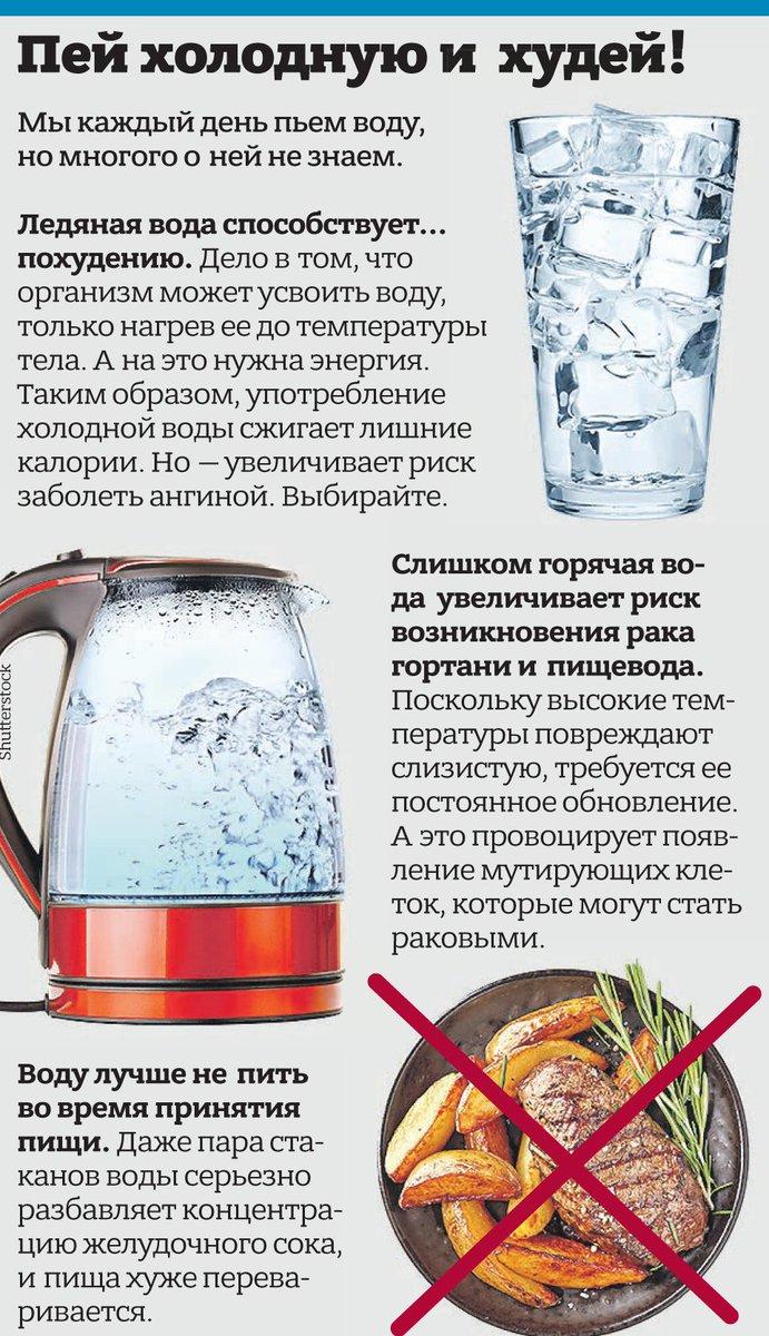 Пить воду после еды. почему нельзя, как правильно пить воду