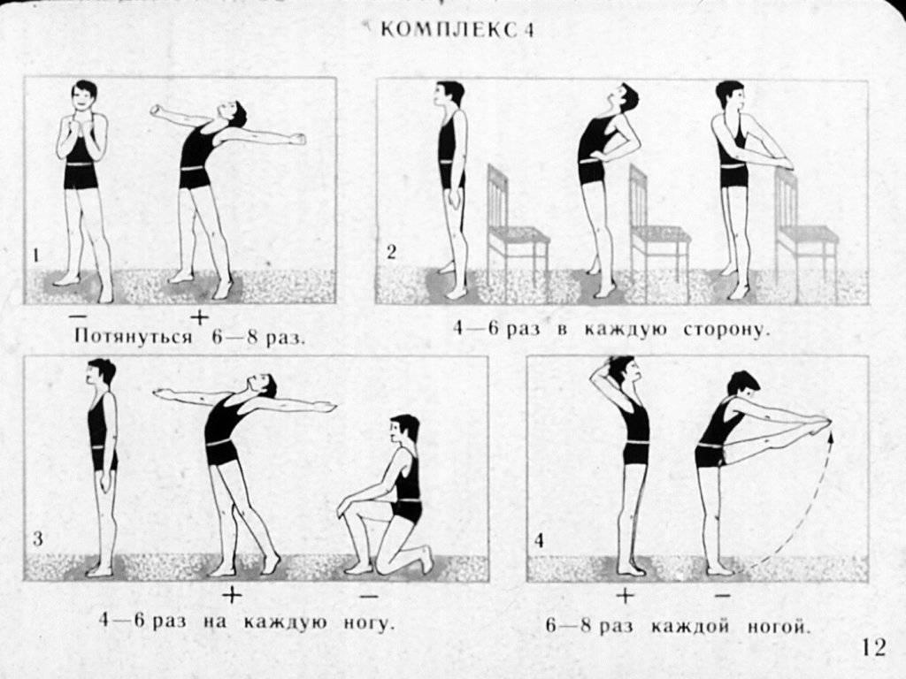 Эффективный комплекс упражнений для утренней зарядки   rulebody.ru — правила тела