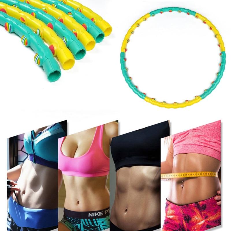 Помогает ли обруч убрать живот - жиросжигающие упражнения с хулахупом