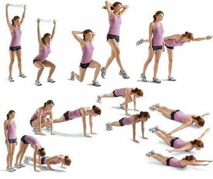 Эффективное упражнение для сжигания жира на животе и быстрого похудения