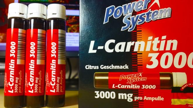 L-carnitine от power system: формы выпуска, как принимать добавку?