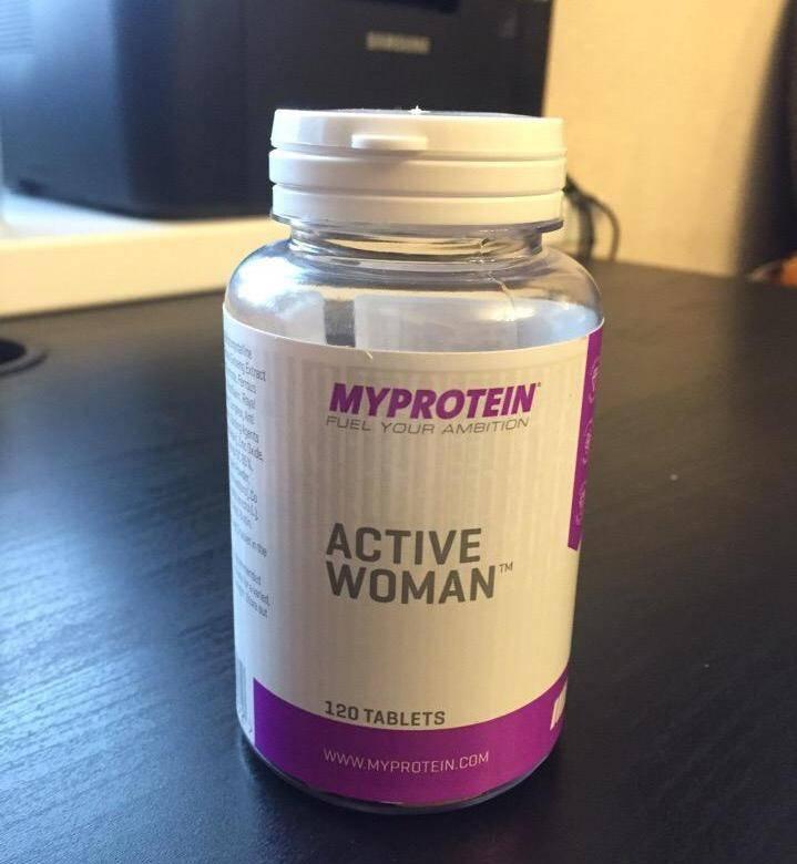 Active woman от myprotein как принимать отзывы о витаминах