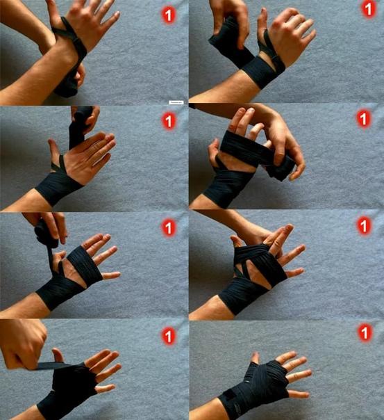 Как завязывать бинты для бокса: правильно научиться наматывать