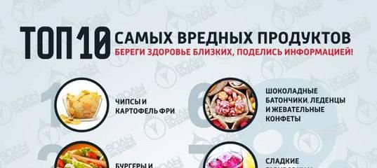 Самые вредные продукты питания для здоровья: что нельзя и как отказаться