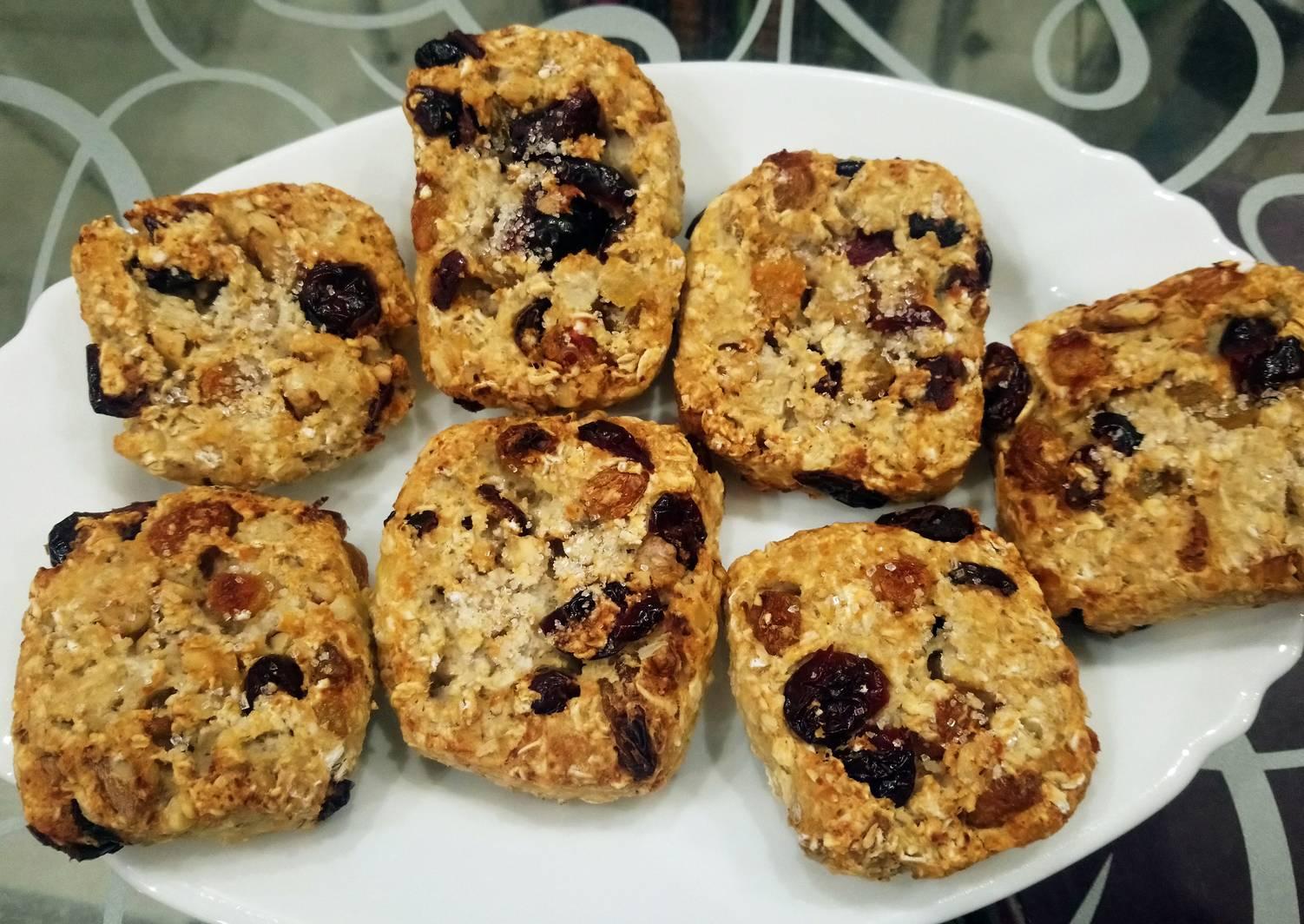 Овсяное печенье - пп рецепт (диетический)