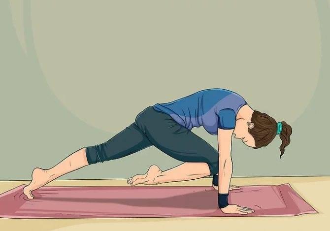 Как сделать живот плоским с помощью йоги?