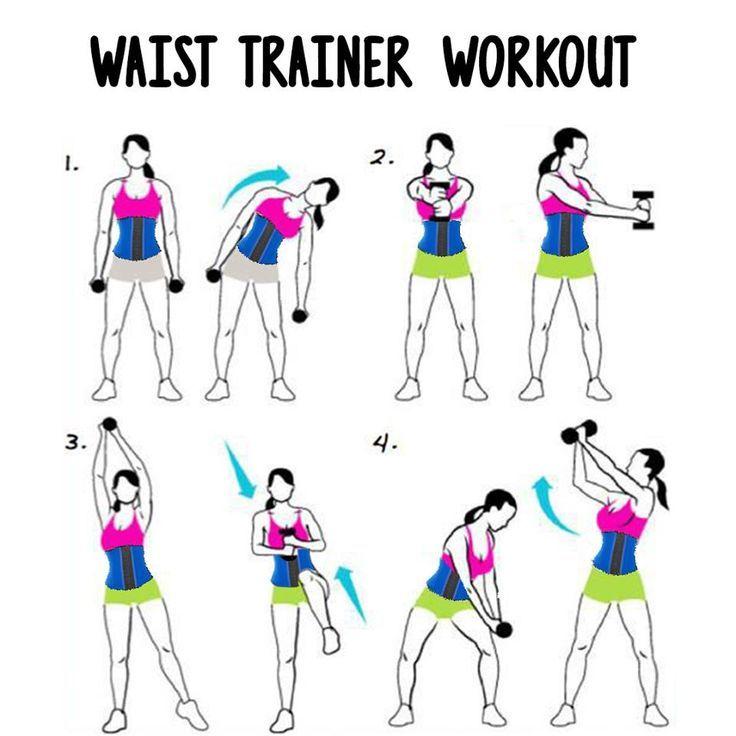 Упражнения с гантелями для похудения для разных частей тела