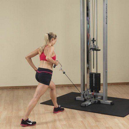 Тренажер кроссовер: комплекс упражнений и техника выполнения