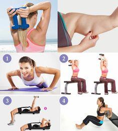 Похудеть в руках выше локтя - упражнения для уменьшения объема плеч и другие способы избавления от полноты в этой области