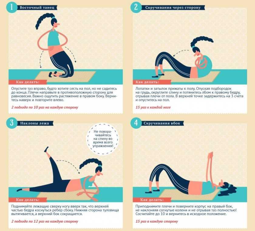 Как быстро убрать живот и бока в домашних условиях: эффективные советы и упражнения