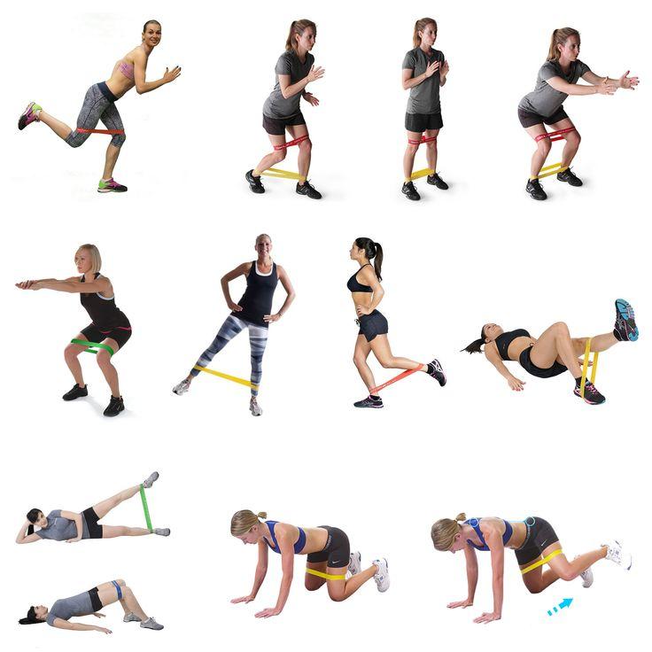 15 упражнений с резинкой: комплекс на все группы мышц (и без другого инвентаря)