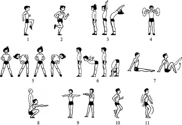Лучшая утренняя зарядка: комплекс упражнений