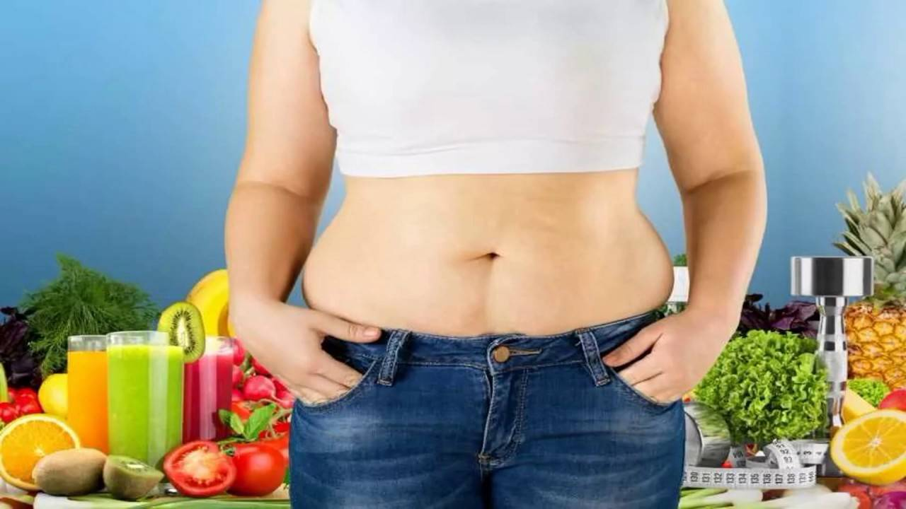 Как похудеть без диеты и убрать живот быстро в домашних условиях