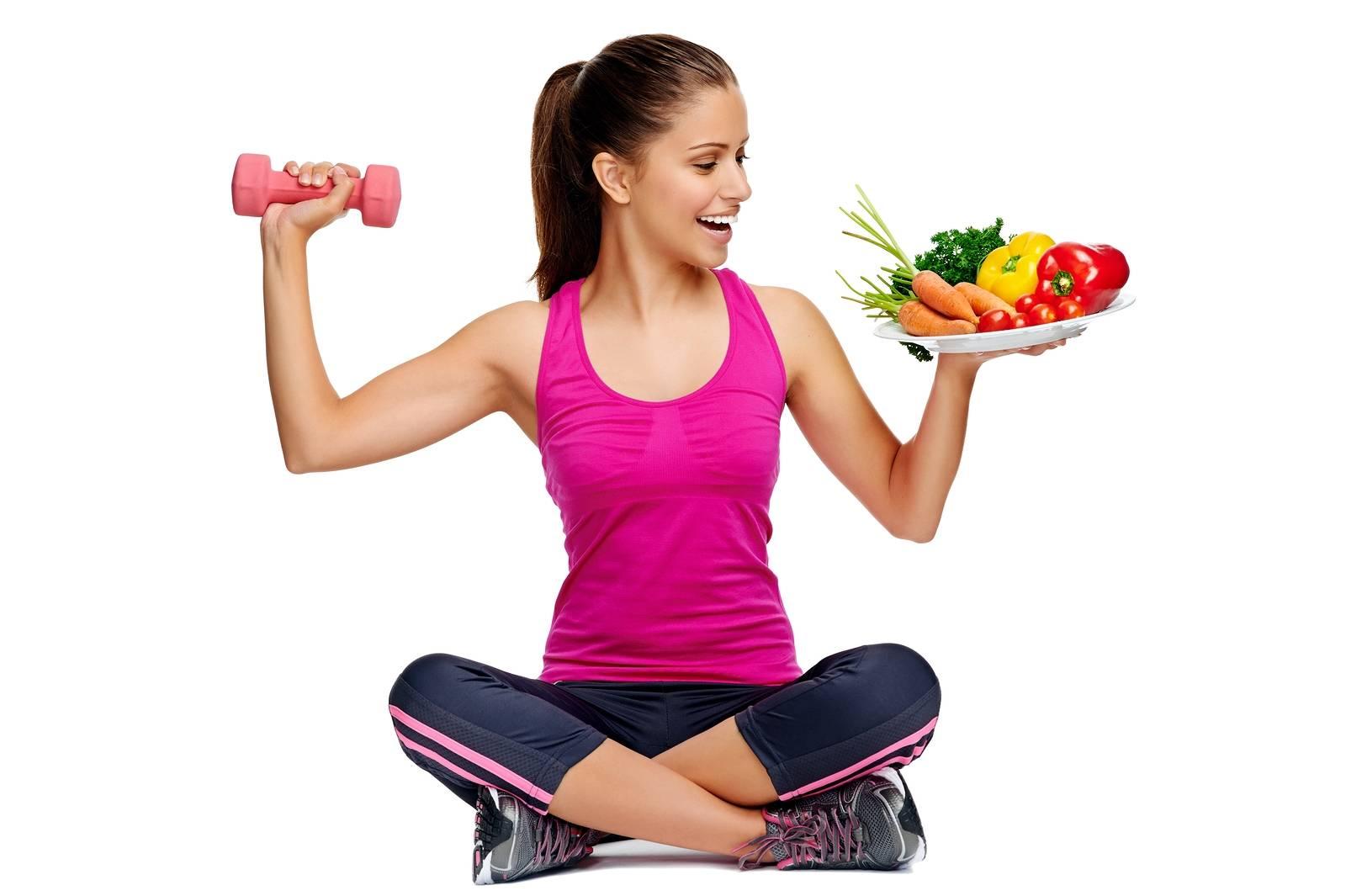 Правильное питание при тренировках для похудения: диета при занятии фитнесом