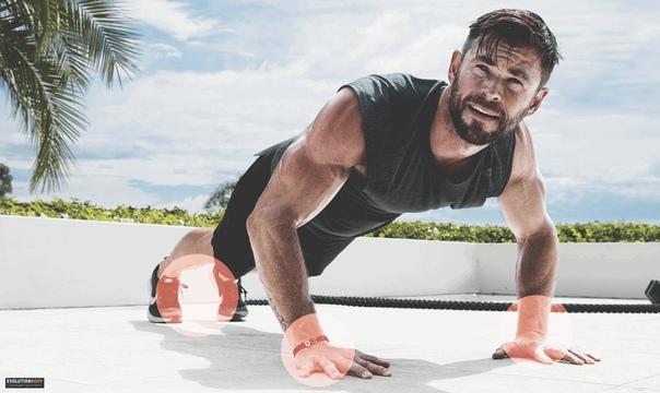 Советы по упражнениям от криса хемсворта, которые помогут тренироваться как тор