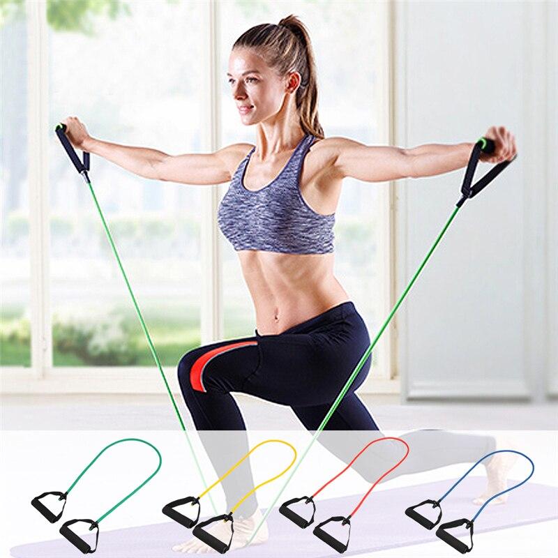 Упражнения с трубчатым эспандером для женщин и мужчин