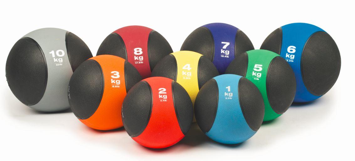 3 лучших упражнений с медболом