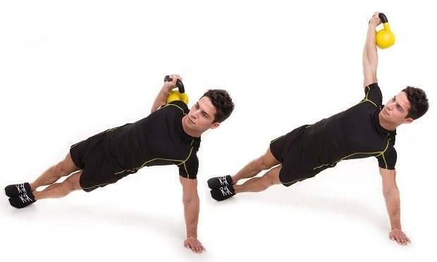 Упражнения с гирей: 16 и 24 кг в домашних условиях, на все группы мышц