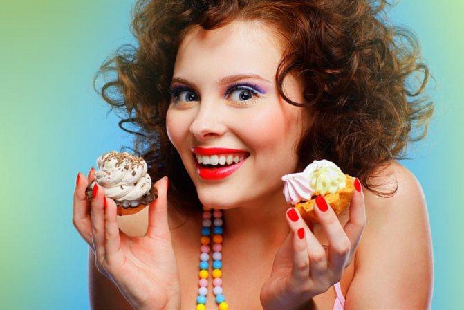 Отказ от сладкого и мучного похудение