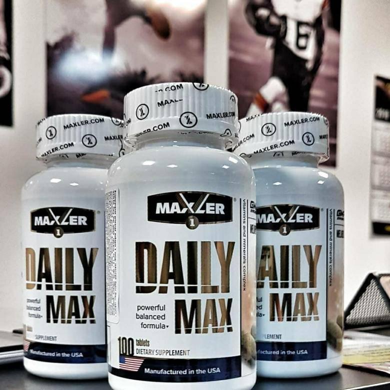 Витамины и минералы daily max отзывы