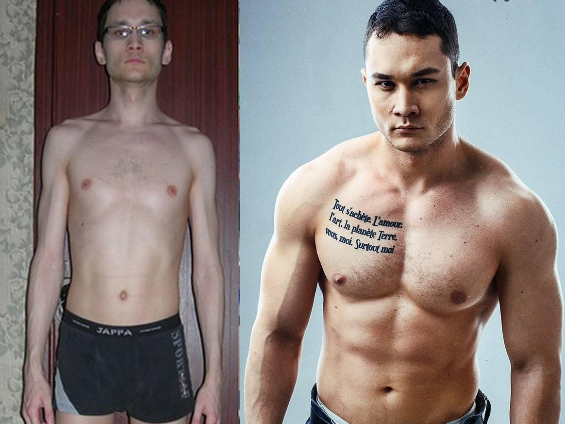 Гейнер для набора веса худым людям