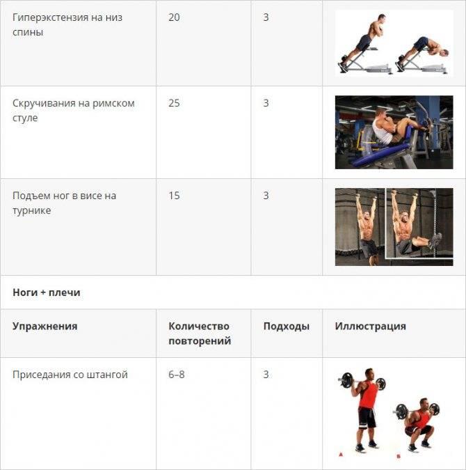 Лучшие упражнения для ног и правила эффективной тренировки