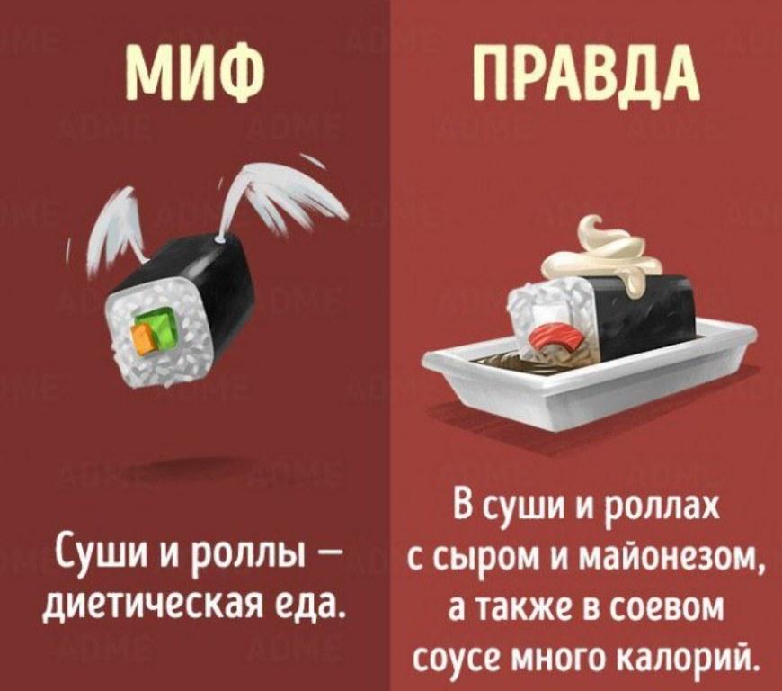 3 мифа о правильном питании, о которых можно благополучно забыть