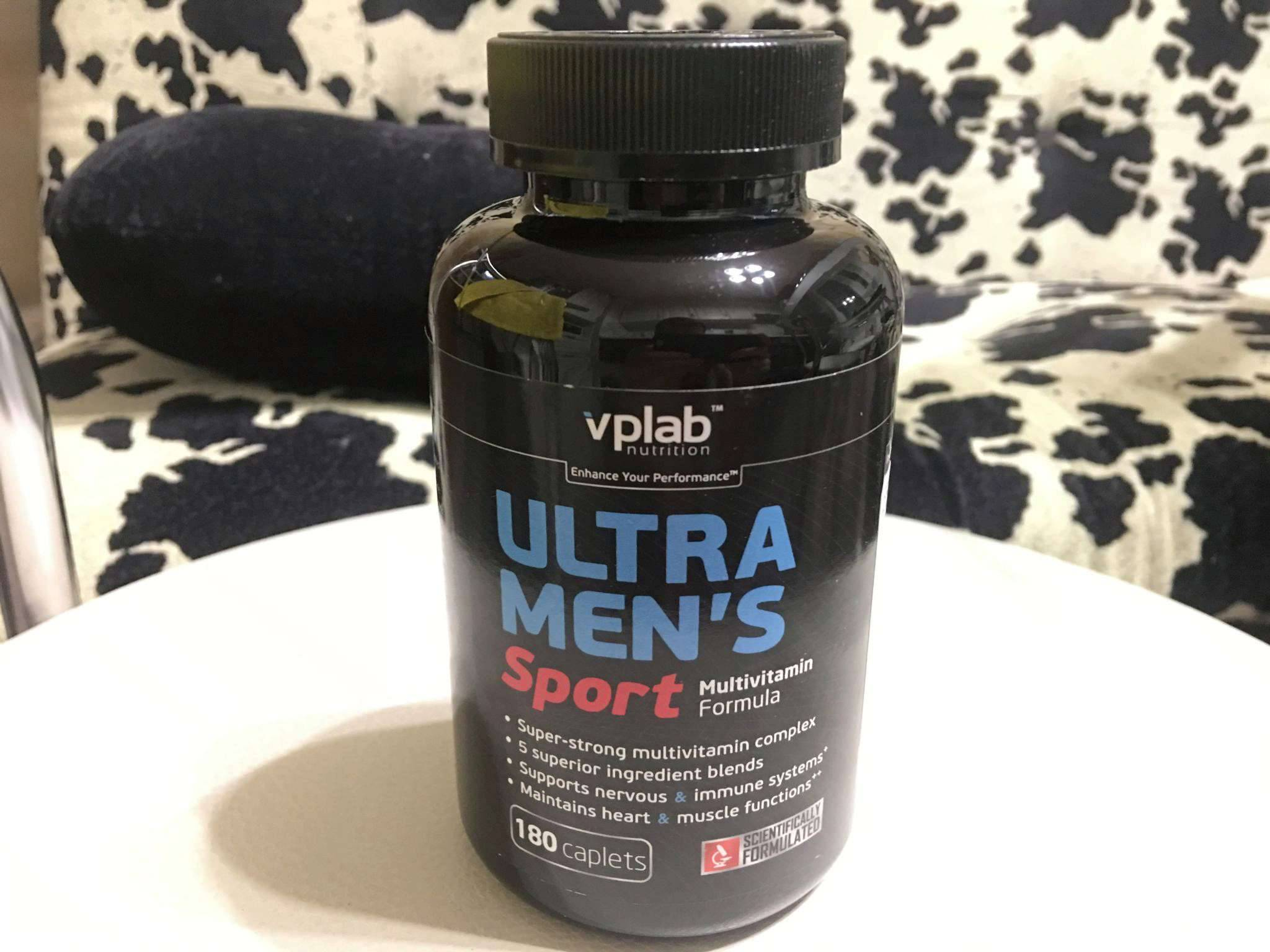 Ultra men's sport multivitamin formula от vplab: как принимать