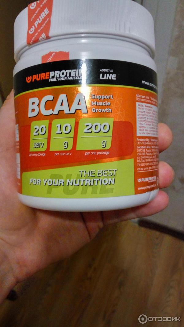 Протеин и bcaa можно ли принимать вместе?