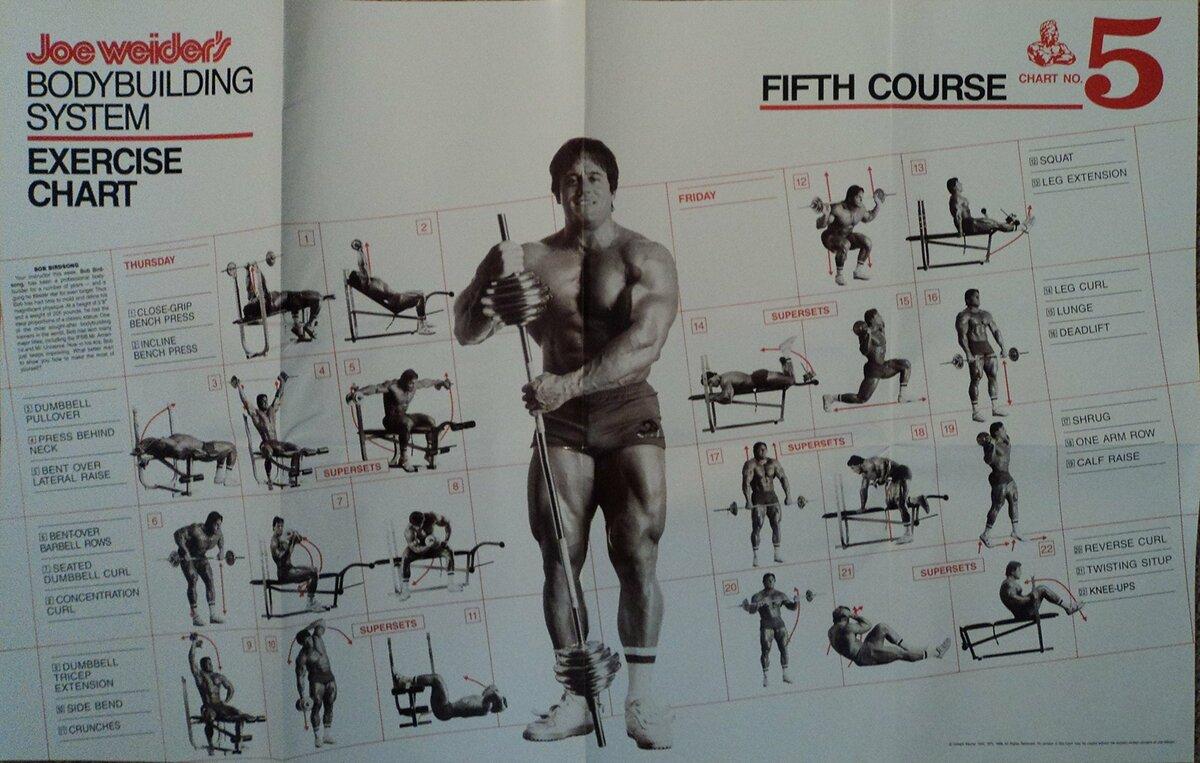 Джо уайдер: биография, комплекс упражнений и тренировочные принципы
