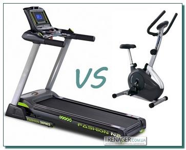 Какой тренажер лучше - беговая дорожка или велотренажер?
