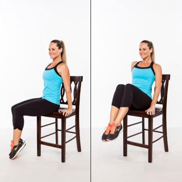 Комплекс упражнений на стуле для похудения: общие рекомендации и советы новичкам
