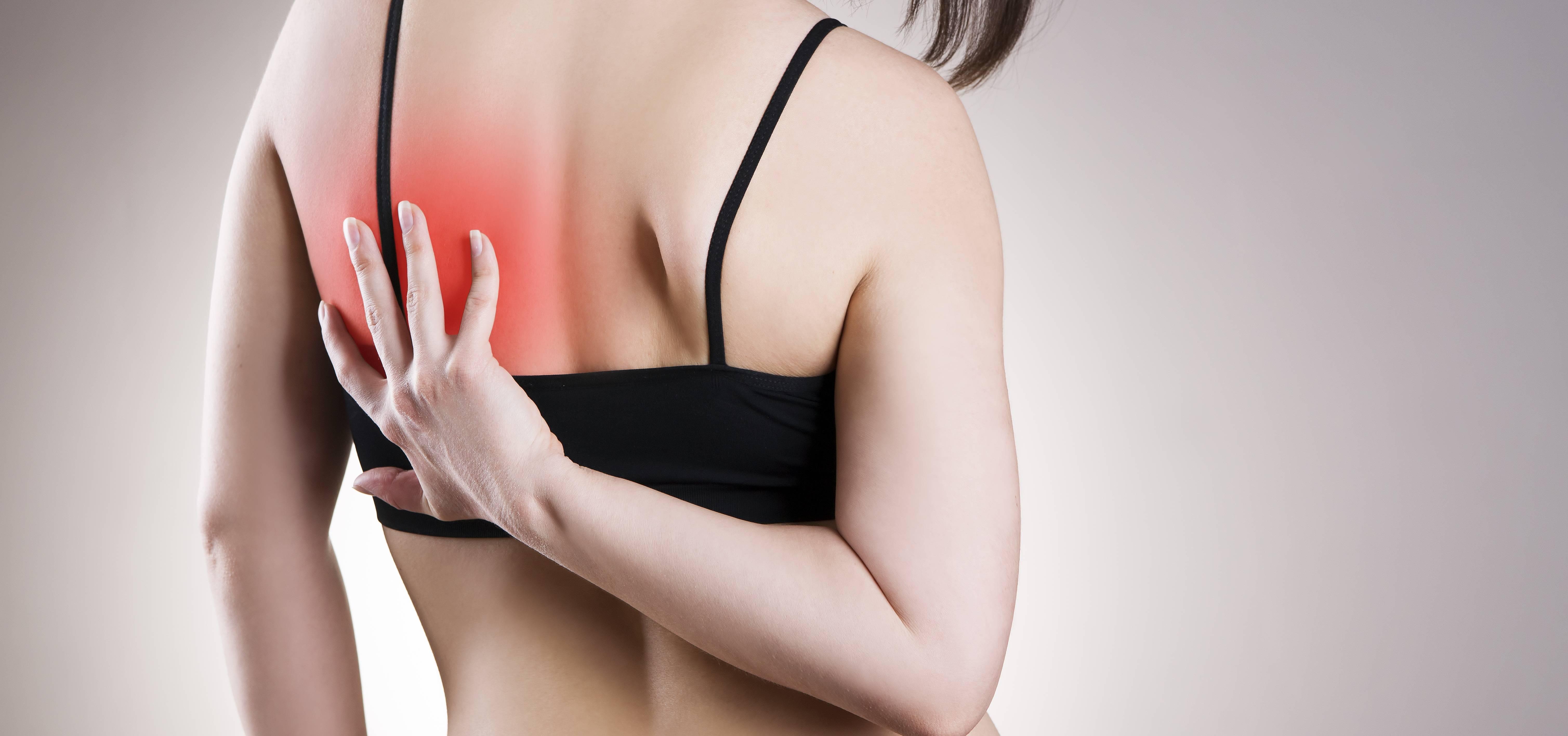 Боль под левой и правой лопаткой сзади со спины: причины и лечение, что может болеть в области лопаток