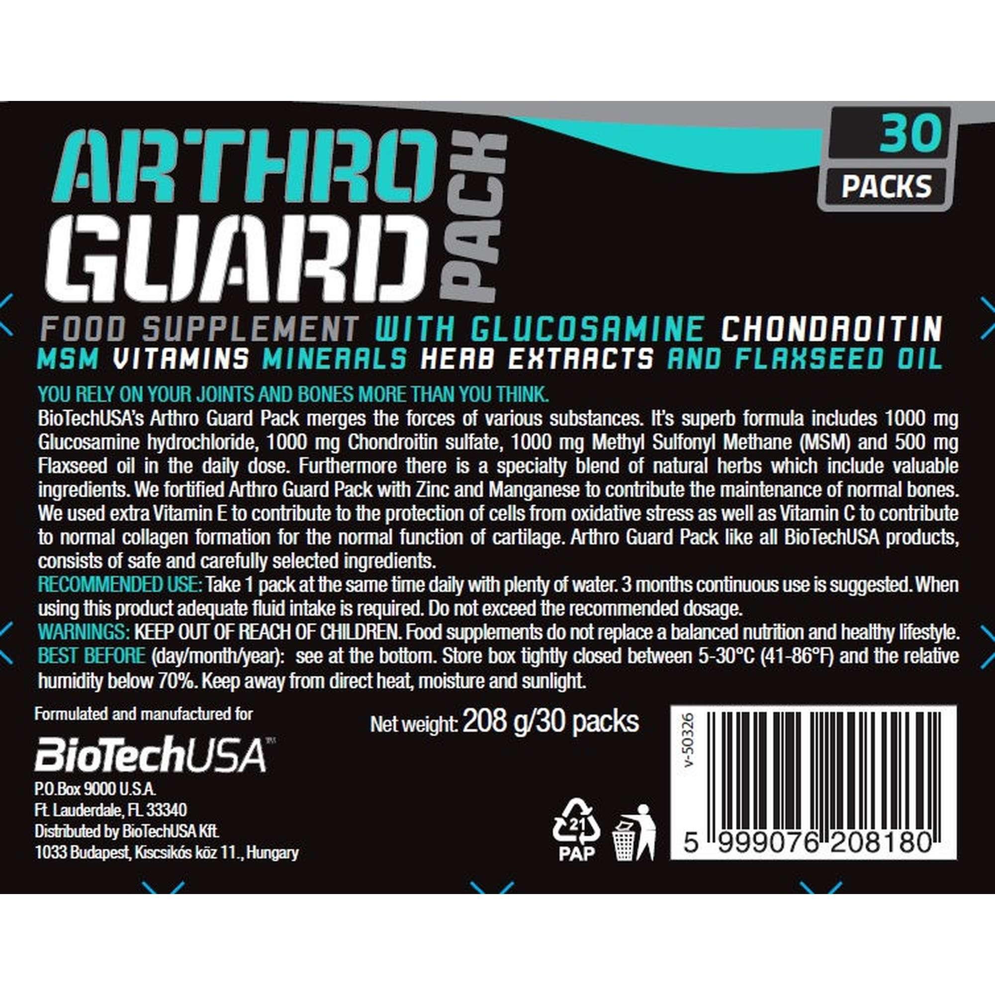Biotech usa arthro guard (120 таблеток, 40 порций)