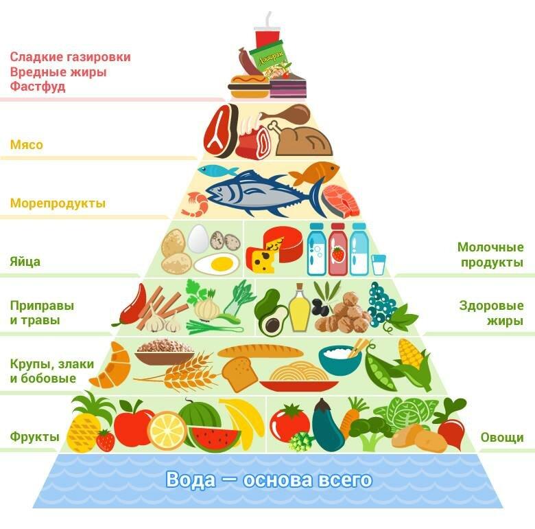 Правила раздельного питания - статьи о диетологии