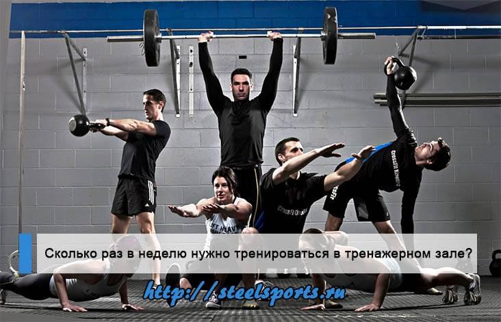 Сколько раз тренироваться в неделю: как определить оптимальную нагрузку? - tony.ru