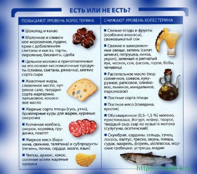 Какие фрукты можно есть при повышенном холестерине для понижения и чистки сосудов