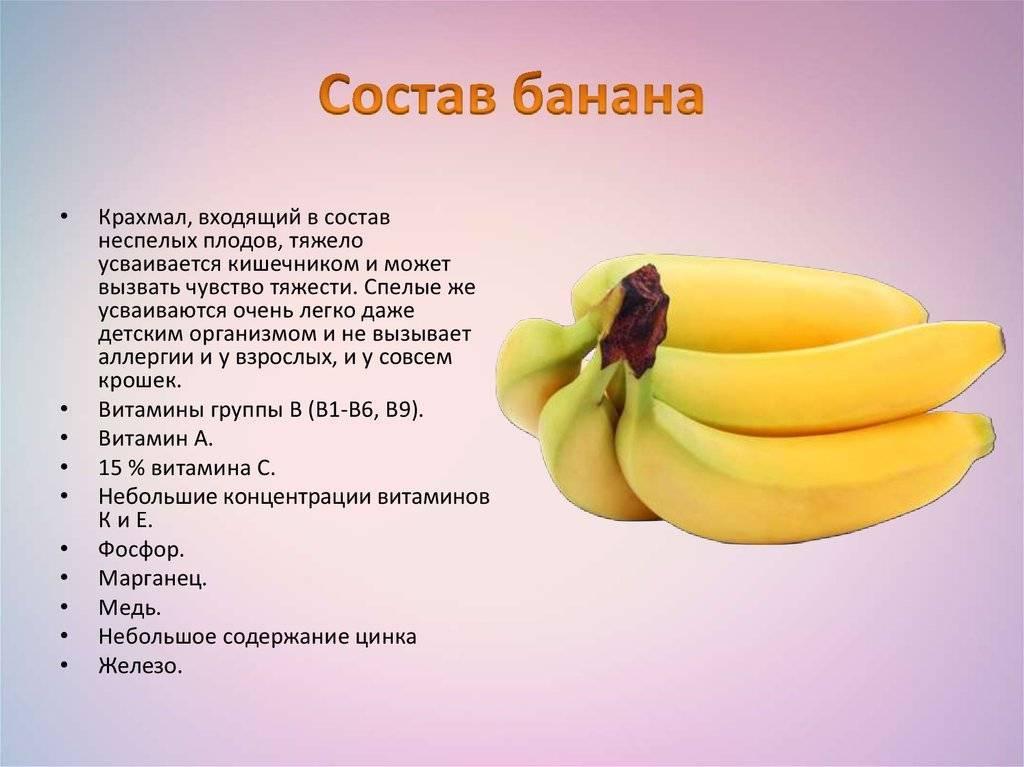 Польза и вред бананов — топ-10 положительных свойств для организма человека и возможные противопоказания