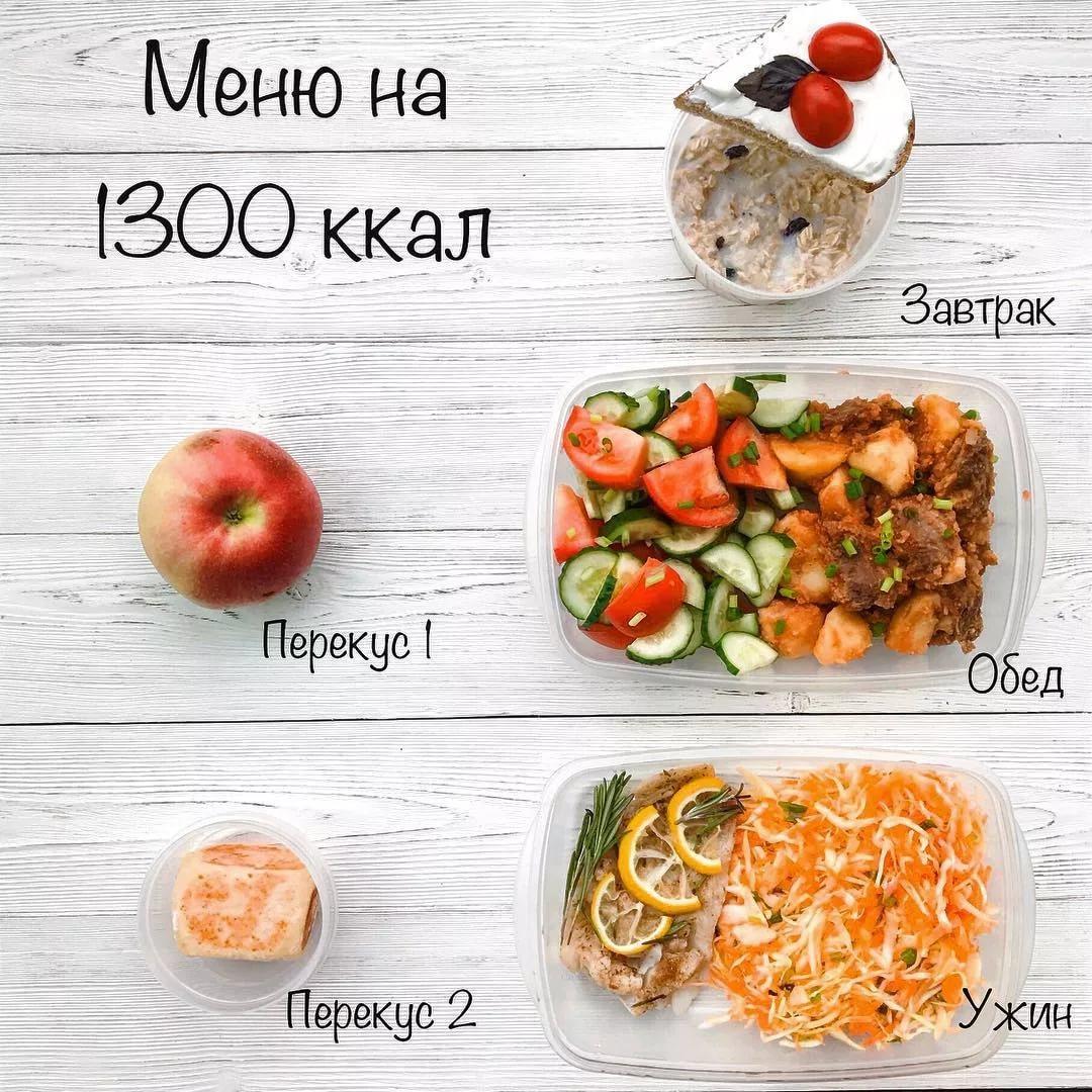 Меню на 1800 калорий в день для женщины - принцип питания