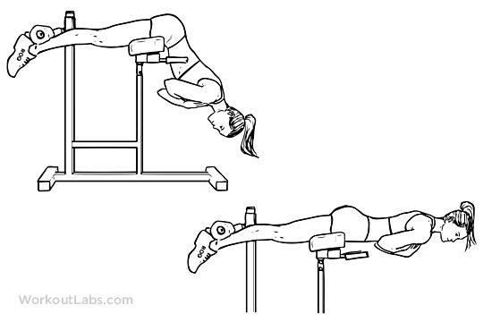 Гиперэкстензия на спину и на ягодицы —как делать правильно? техника упражнения