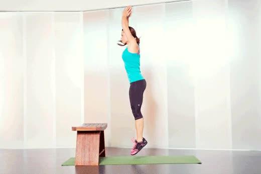 Выпрыгивания из приседа — взрываем квадрицепс - сайт о лечебной физической культуре